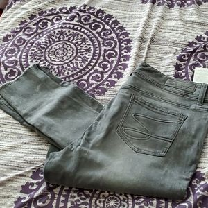 Brand new high rise ankle jeans